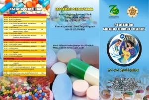 Pelatihan dasar farmasi klinik