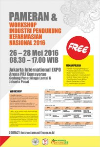 seminar dan pameran industri farmasi