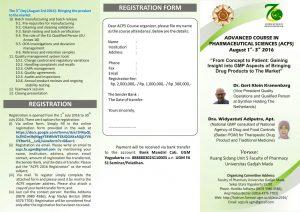 Seminar ACPS GMP Ugm 1