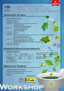 Workshop Praktek kefarmasian