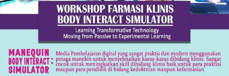 Workshop Farmasi Klinis Body Interact Simulator